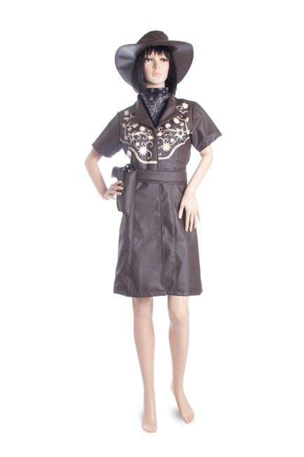 Sewa kostum koboi wanita kow 003